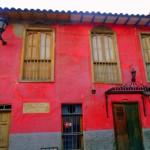 quartiere della Candelaria Bogotà Colombia