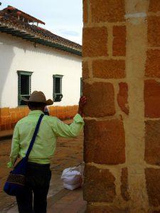 Il coloniale villaggio di Barichara in Colombia