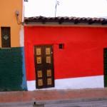 scorcio di abitazione coloniale in Colombia nella città di Santa Marta