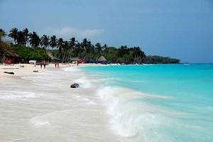 spiaggia di Baru' in Colombia