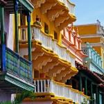 centro storico di Cartagena in Colombia