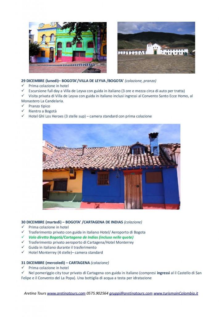 tour di gruppo low cost per un Capodanno ai Caraibi in Colombia